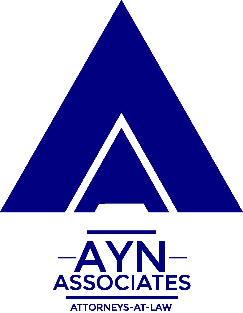 ayn associates logo navy