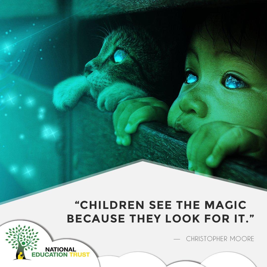 children see the magic